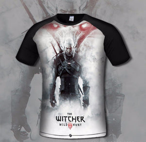 The Witcher 3 Wild Hunt Print T Shirt