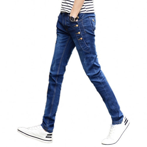 Slim male jeans