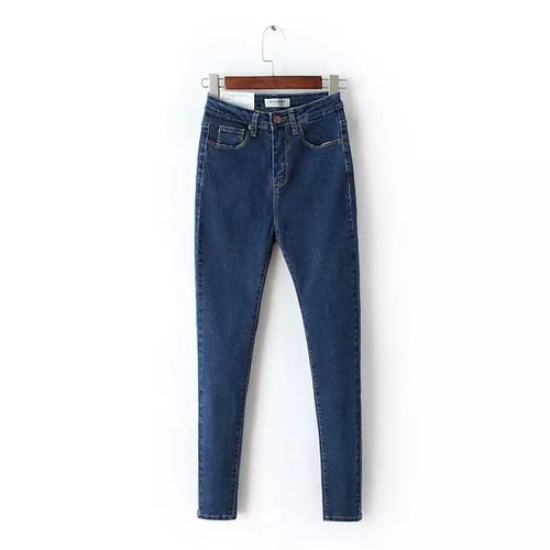 Mom Fit High Waist Jeans