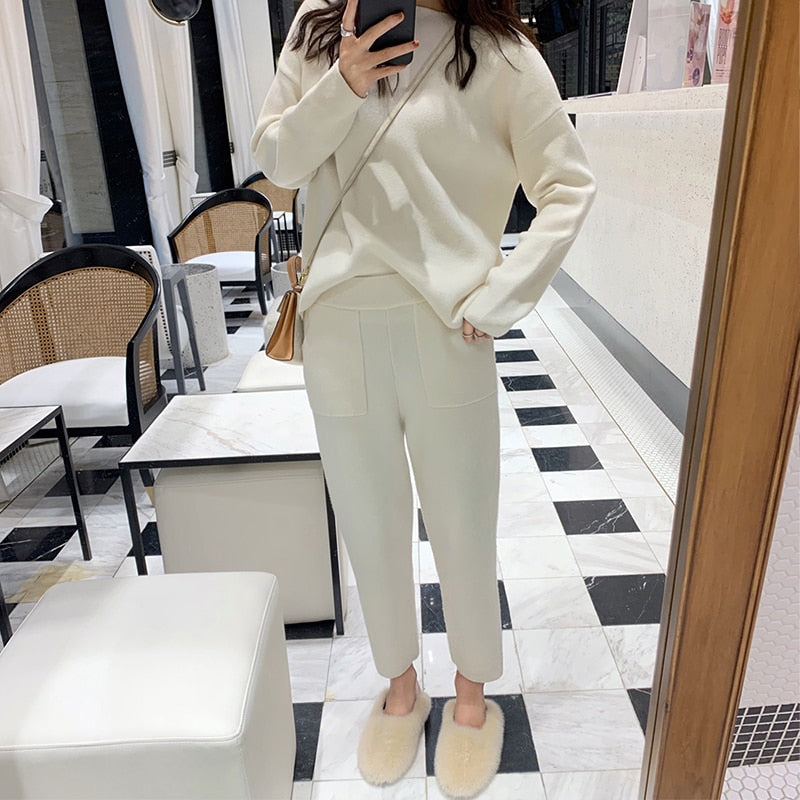 Solid Tracksuit Set - DB Women