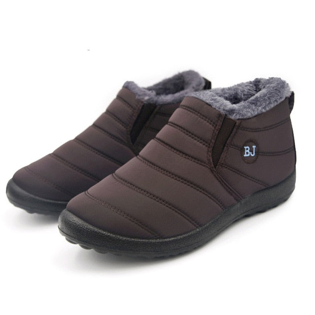 Comfortable Ankle Plush Boots - DB Women