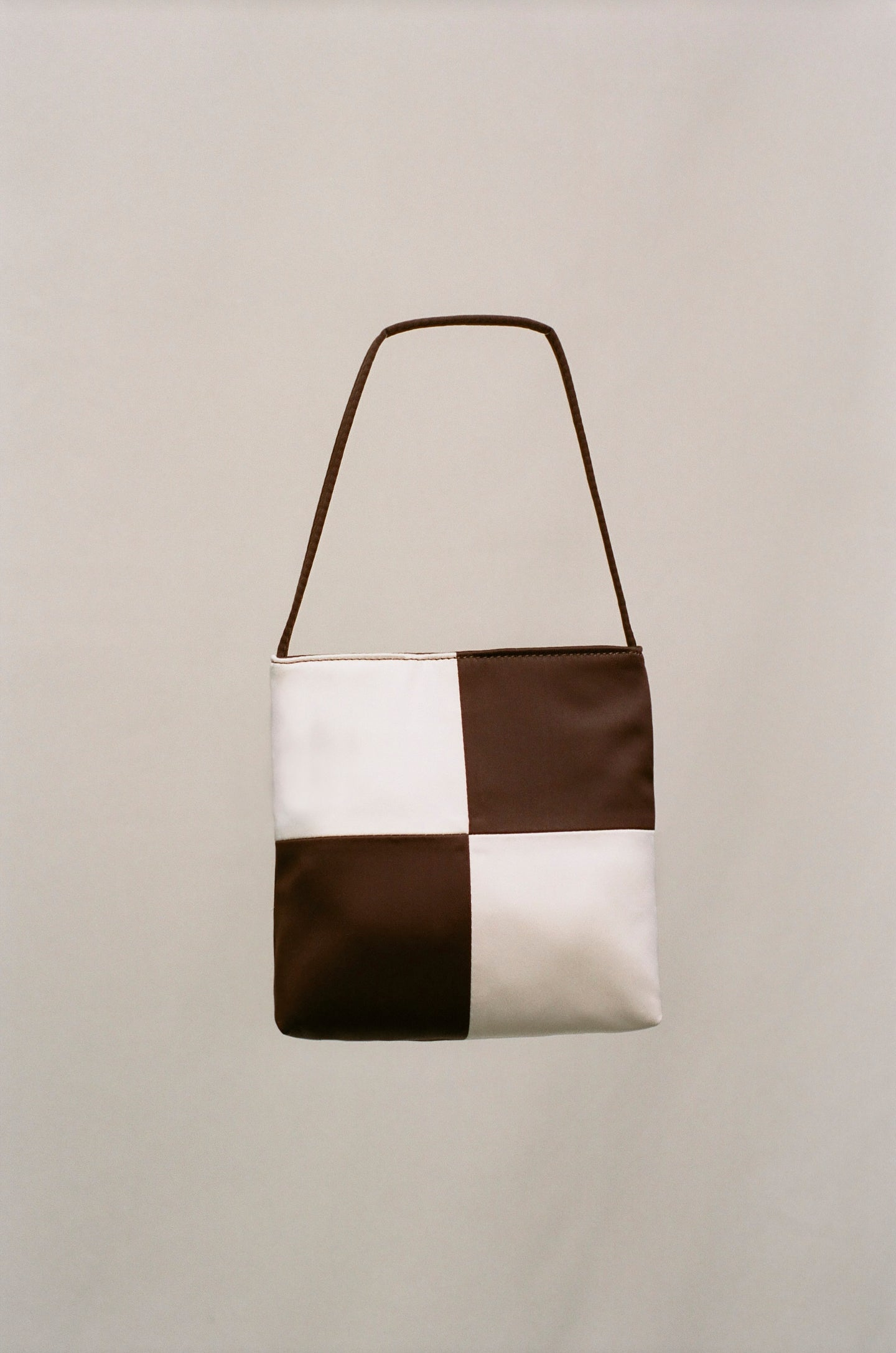 Vera Bag - Brown & Ivory