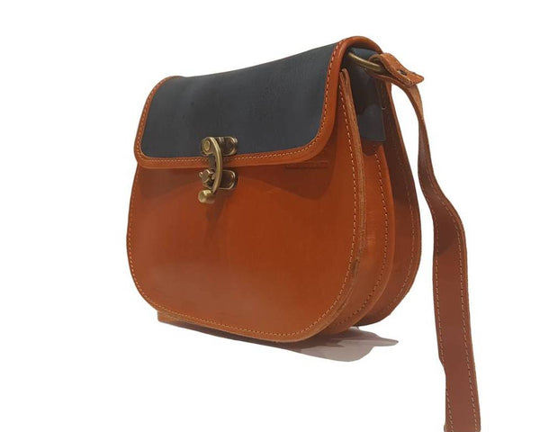 "Leather Bags SWB0011-""MYRTO"" - SEAWAVE FASHION SHOP"