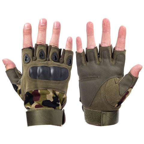 HM Tactical Half Gloves