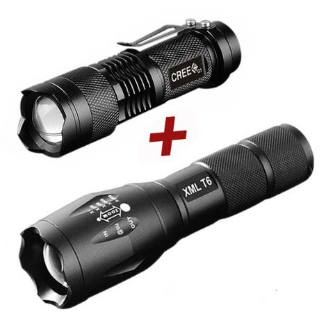 CREE Tactical Flashlights Set