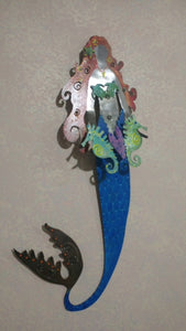 Mermaid with Sea Creatures