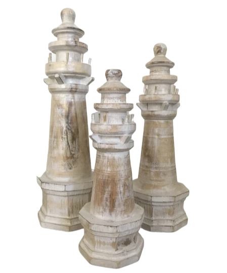Wooden Lighthouse Assorted