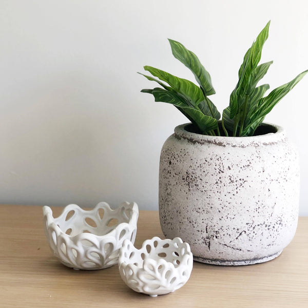 Trinket Bowl White