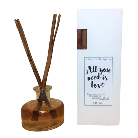 """All You Need"" Frangipani Diffuser"