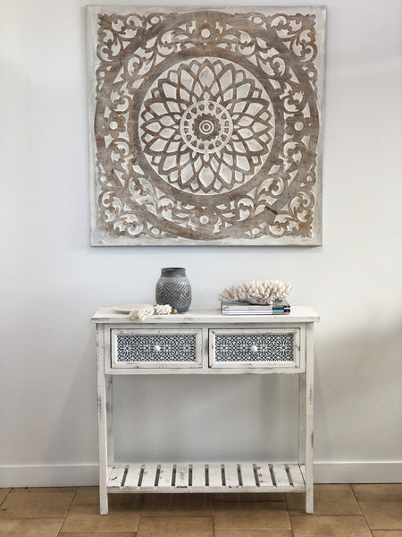 Byron Hall Table with Grey