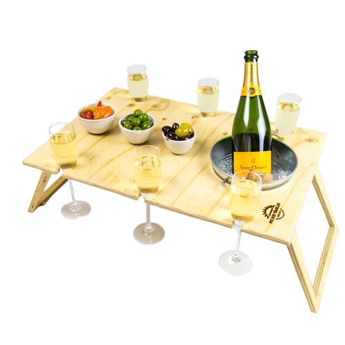 Picnic Table Banquet with Ice Bucket