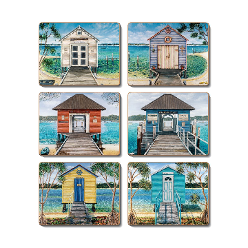 Boathouses Coasters
