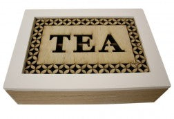 Stamped Tea Box Large