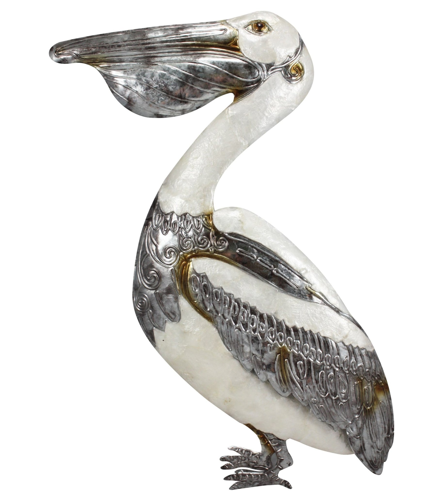 Pelican Capiz Wall Art