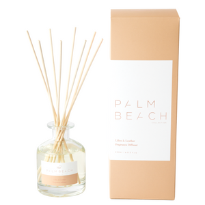 Palm Beach Diffuser Lilies & Leather
