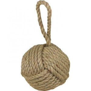 Rope Doorstop Natural