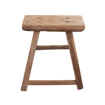 Elm Rectangle Stool Medium
