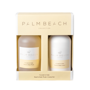 Palm Beach Hand Wash/Lotion Gift Pack Coconut & Lime