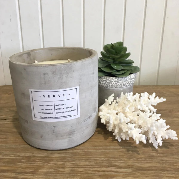 Verve Concrete Candle Assorted