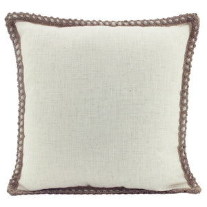 Cushion Jute & Linen Beige 50X50