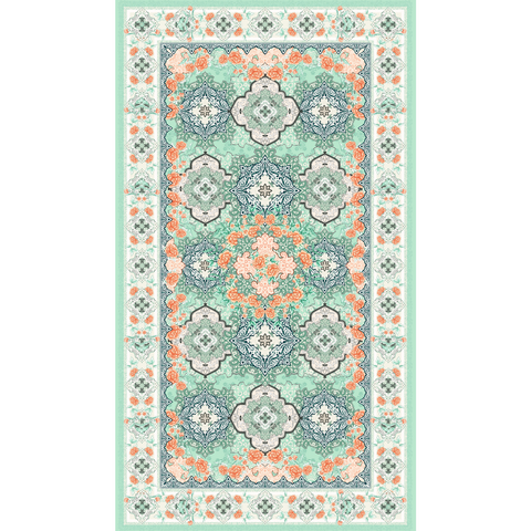 Moroccan Mint Beach Towel by SomerSide