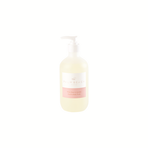 Palm Beach Hand Body Wash White Rose & Jasmine