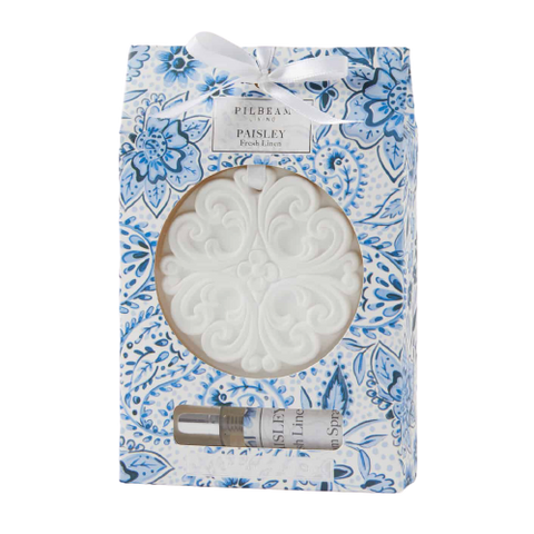Paisley Scented Ceramic Disc