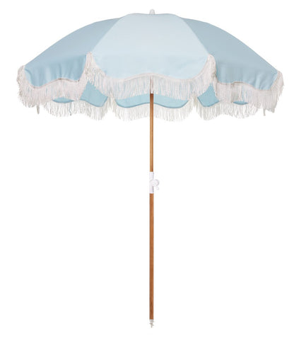 Santorini Umbrella Blue