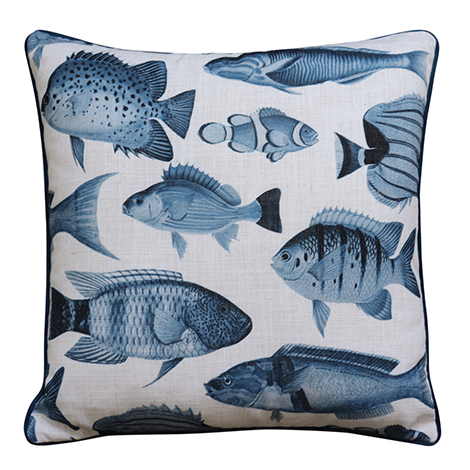 Shoal Cushion Blue
