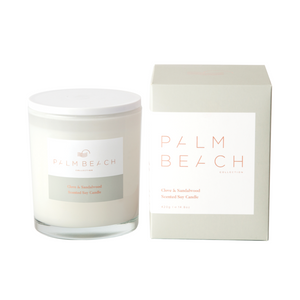 Palm Beach Candle Clove & Sandalwood