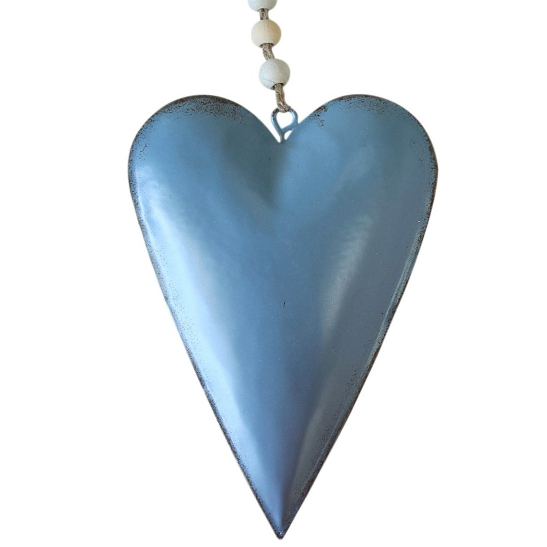 Hanging Heart Pale Blue