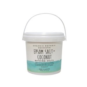 Organik Botanik Epsom & Coconut Oil Bath Salts