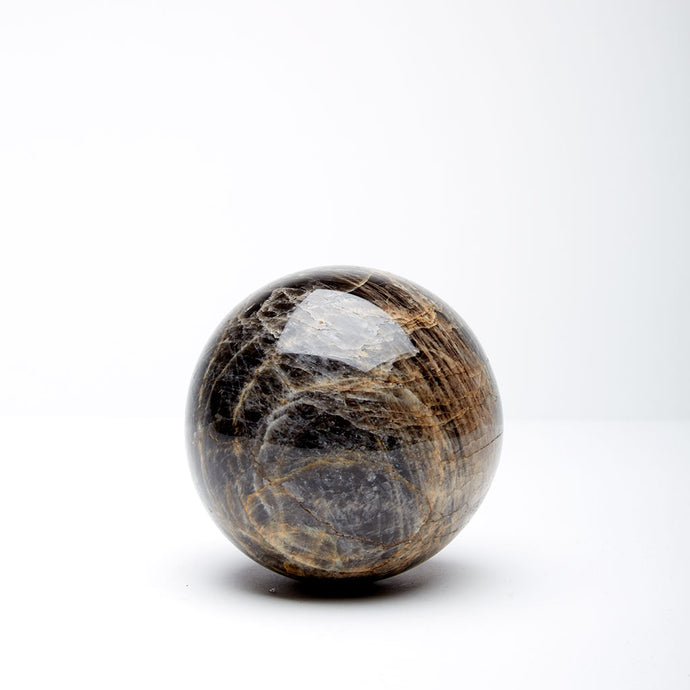 Black Moonstone Sphere III