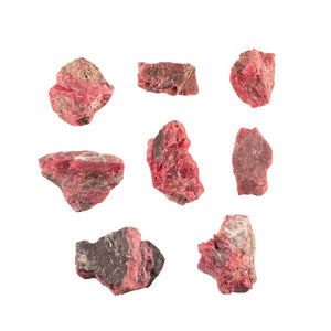Raw Rhodonite