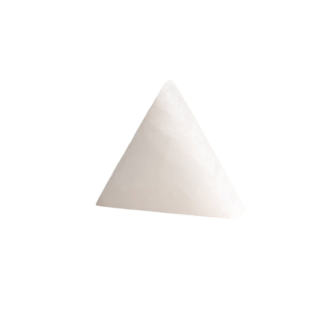 Selenite Triangle Charging Plate