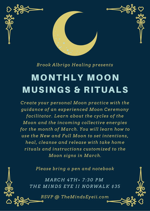 Monthly Moon Musings & Rituals