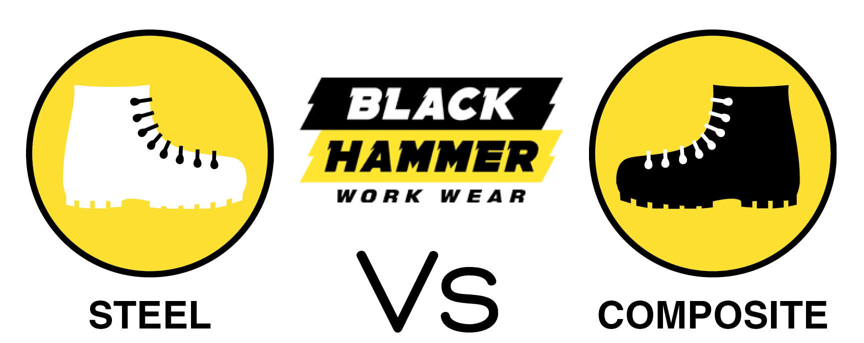 Composite Toe Vs Steel Toe | Black Hammer