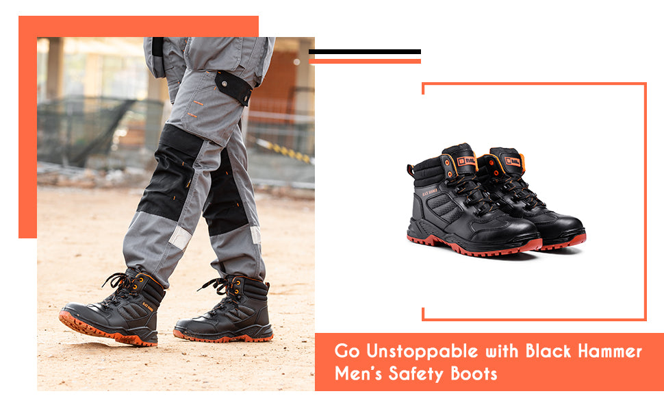 Go unstoppable with mens safety boots