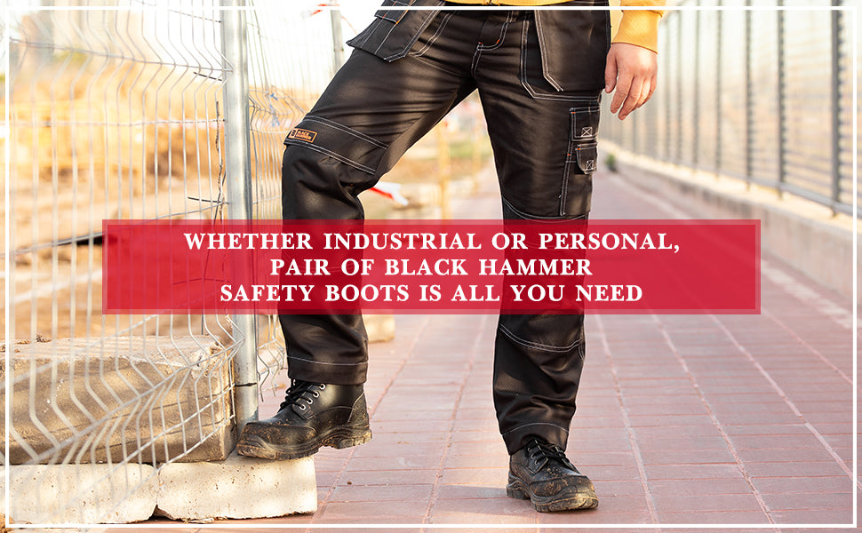 Black Hammer Men's safety boots perfect for all your needs