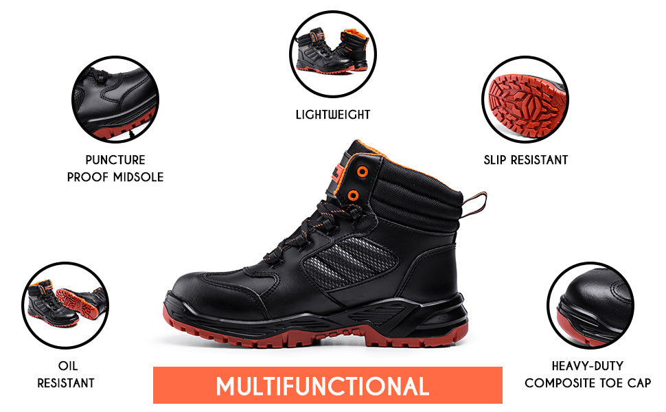These work boots for men are multi functional