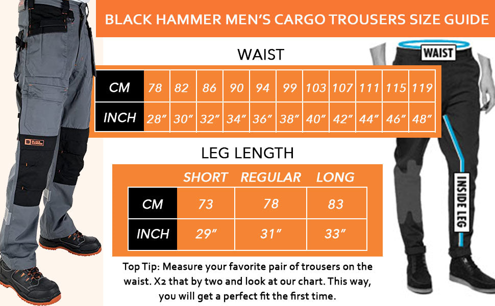 Breathable trouser that offers high storage