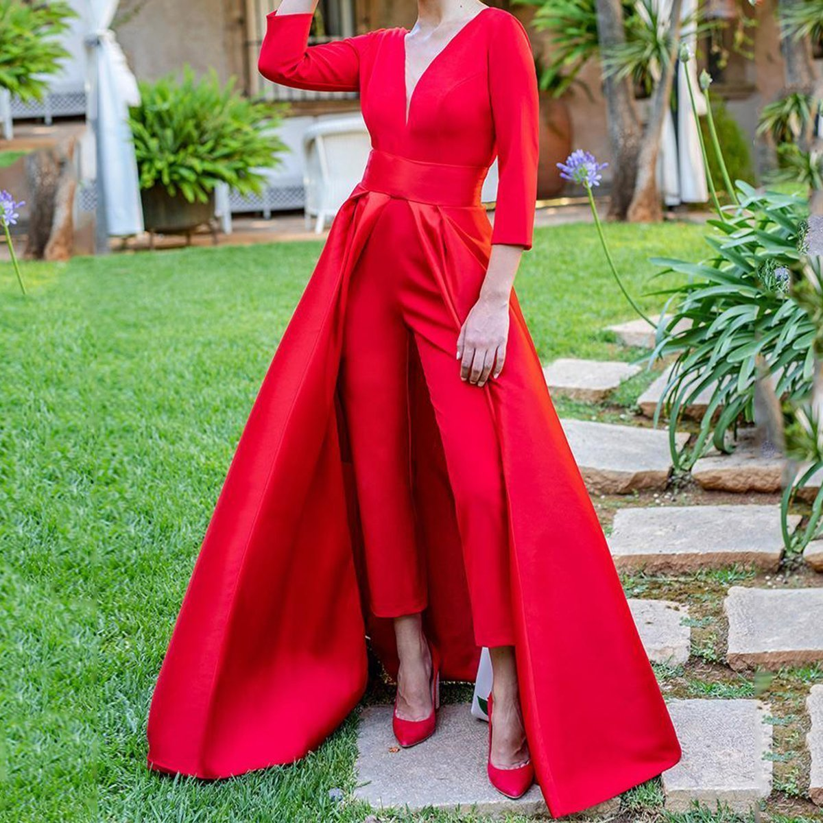 Fashion Maxi Dress Jumpsuit