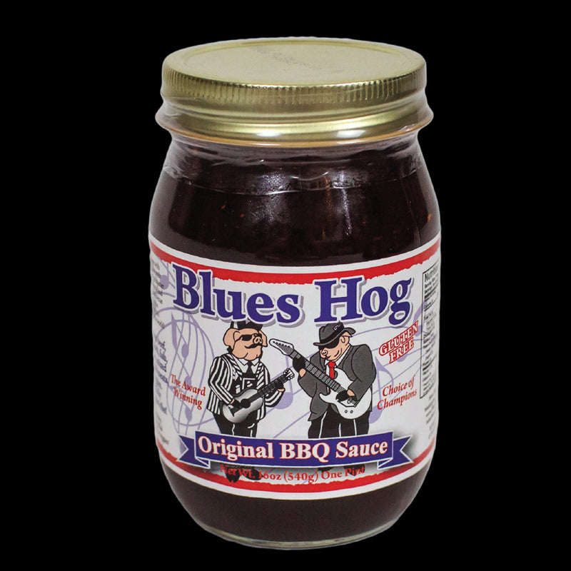 Blues Hog Barbecue Sauce is a Gourmet Sauce made from all natural ingredients, and its sweet, yet spicy, flavor enhances the taste of all meats prepared on the grill or in the kitchen