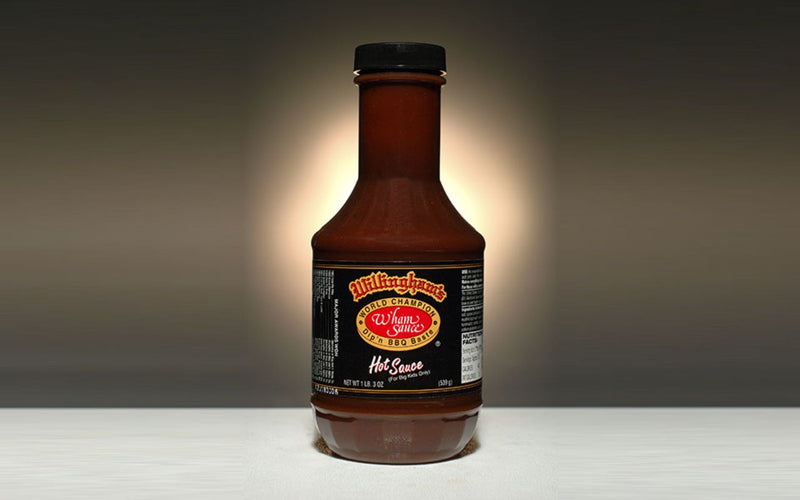 Willingham's Hot Sauce adds a little of Willingham's Hot Stuff BBQ seasoning to the formula for Willingham's Original Mild Sauce