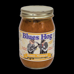 Blues Hog Honey Mustard is a thick, golden gourmet sauce that combines the sweet taste of honey with the zesty taste of prepared mustard