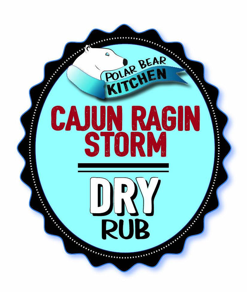 The Polar Bear Kitchen: Cajun Ragin Storm Rub