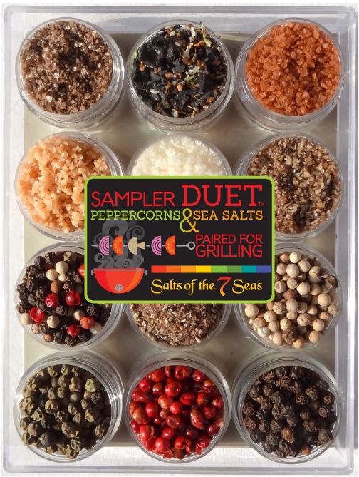 Classic Duet Sampler Salt & Peppercorn Gift Set