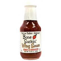 Bone Suckin Wing Sauce- Honey & Habanero