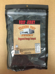 Peppered Orange Teriyaki Brisket Beef Jerky (Gluten Free)