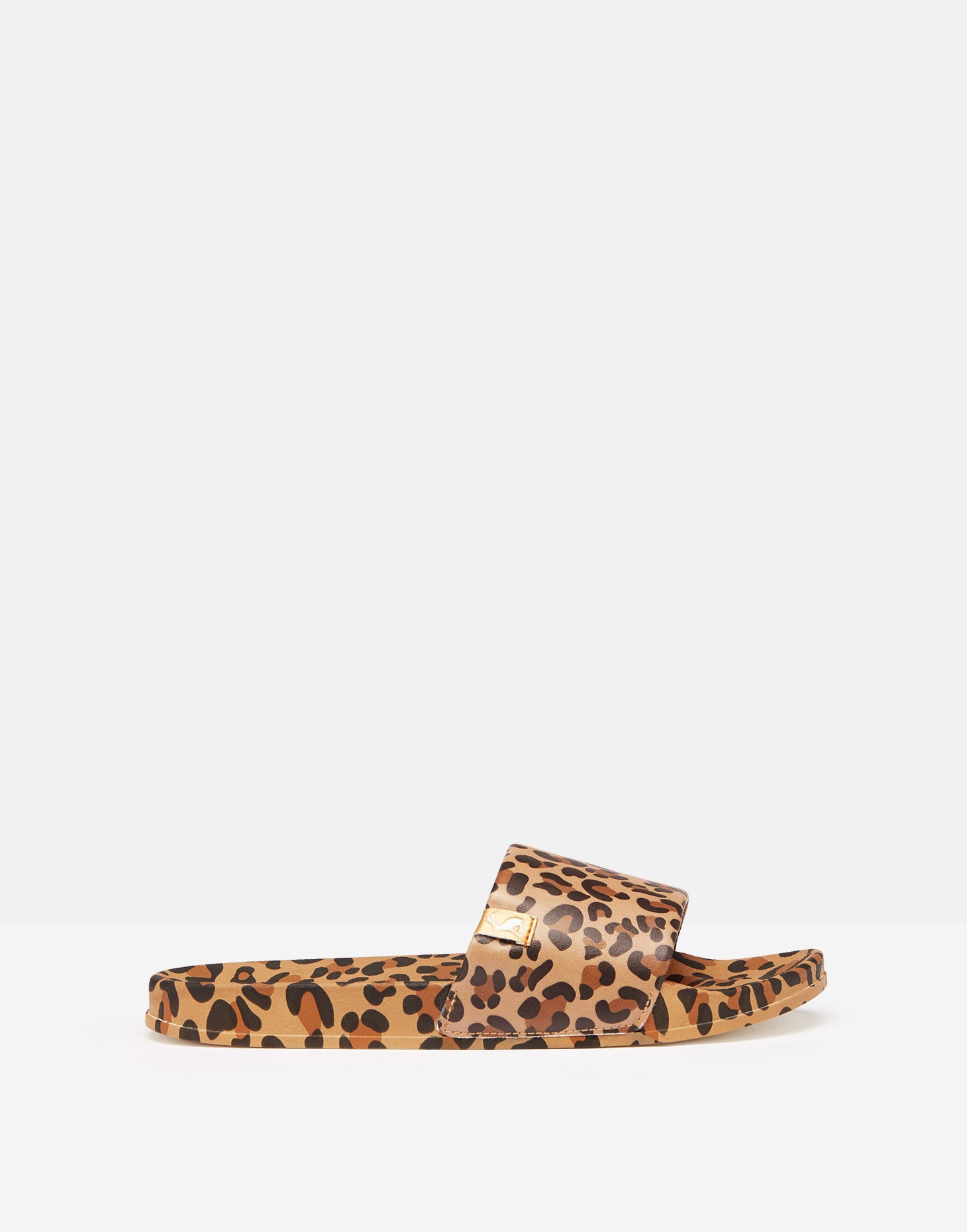 Leopard Poolside Slides - Dalton Boutique
